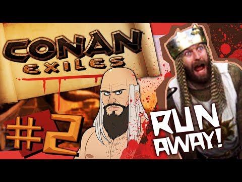 Conan Exiles #2 - A WORTHY FOE