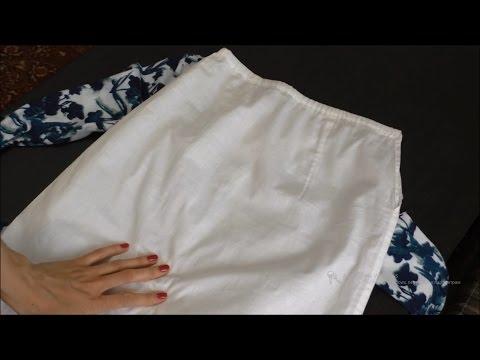 Как сшить подъюбник для юбки