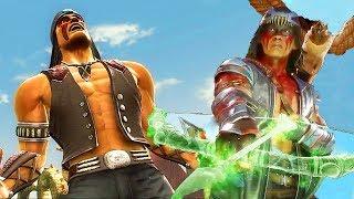 Mortal Kombat 11 Vs Mortal Kombat 9 Victory Poses Graphics Comparison (MK11 Nightwolf Included) / Видео