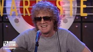 """Mott the Hoople's Ian Hunter """"All the Young Dudes"""" Acoustic on the Stern Show (2001)"""
