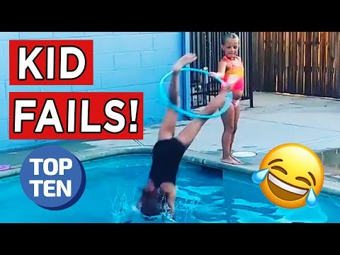 Top 10 Funny Kids Fails of 2017