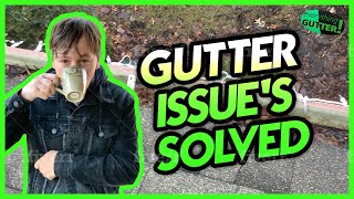 Solve ALL Gutter Issue's Like A PRO | DIY Resource Channel!