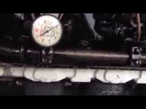Setting Detroit Diesel 71 series Fuel Injector timing