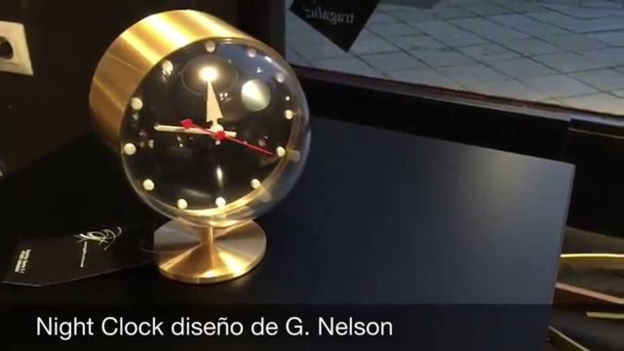 Night Clock De Vitra   YouTube