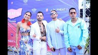 Todo lo que pasó en la Alfombra Roja de los Premios Heat Latin Music Awards 2019