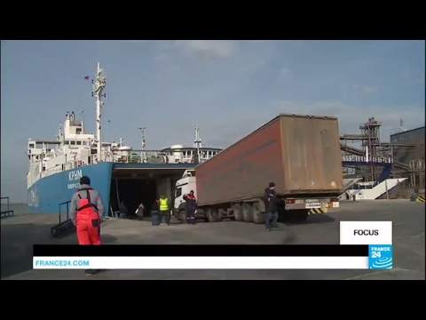 Crimea: Russia building bridge to reach peninsula by road