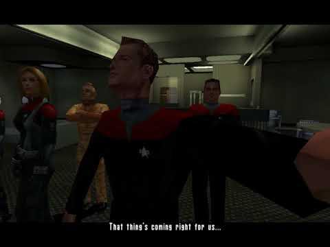 Paul's Gaming - Star Trek: Elite Force part20 - Unfriendly Approach [BLIND]