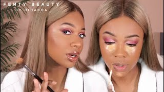 I'M BACK! FULL FACE OF FENTY BEAUTY | Valentine's Day Tutorial ♡