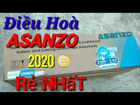 Điều Hoà Asanzo Giá Rẻ Tiết Kiệm Điện Mới Nhất//Máy Lạnh Asanzo Model Mới Ikool R410 Bán Chạy Nhất