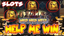 Wild Wild West The Great Train Heist Online Casino Game (Should I Keep Playing or STOP?)