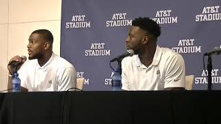 TCU Players Shawn Robinson and Ben Banogu Discuss Ohio State loss