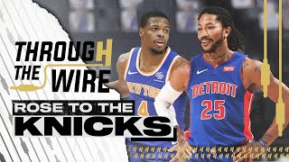 Derrick Rose trade reaction | Through The Wire Podcast