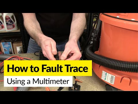 How to Fault Trace on a Small Appliance Using a Multimeter