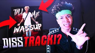 HE DISSED ME!? REACTING TO RG OFFICIALS FIRST SONG 😂🤦🏽♂️