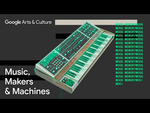 Music, Makers & Machines - An online exhibition about electronic music on Google Arts & Culture