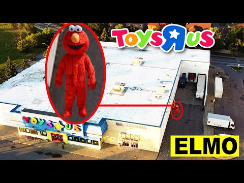YOU WONT BELIEVE WHAT MY DRONE CAUGHT AT TOYS R US | DONT GO TO TOYS R US OR ELMO WILL APPEAR!