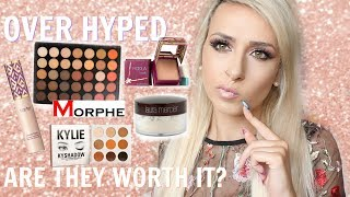 HYPED UP MAKEUP PRODUCTS | Are They Worth It?! |DramaticMAC