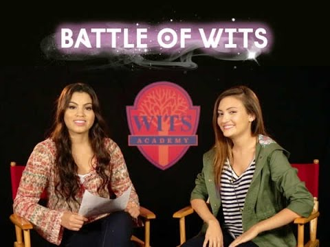 Battle of WITS   Wits Academy  Paola Andino and Daniela Nieves