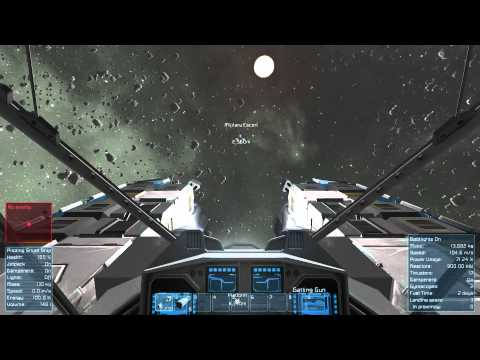 Space Engineers Fail - Attacking a Military Escort