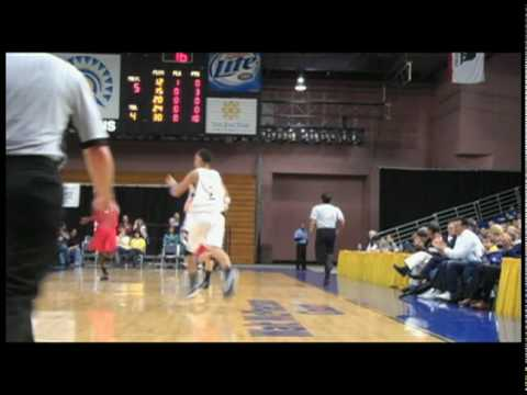SJSU Mens Basketball Senior Night and Highlights 2010