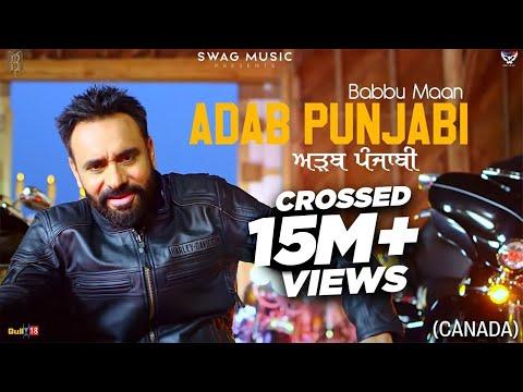 Babbu Maan : Adab Punjabi (Canada) | Official Music Video | Pagal Shayar | New Punjabi Songs 2021