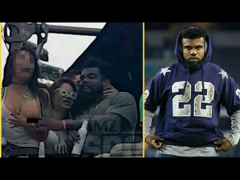 Thumbnail: Ezekiel Elliott Pulls down Woman top at St.Pattys Day Parade in Dallas Texas