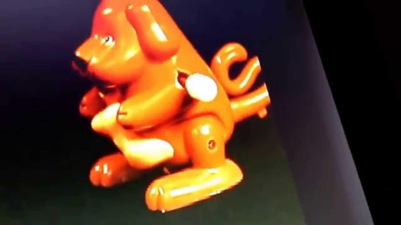 wind up flip dog toys