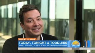 Jimmy Fallon Cries while Reading a Children's Book