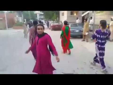 Civil Hospital Mandi Bahauddin main Khawaja Sara ka elaaj na hone per Ehtijaj