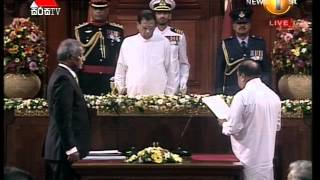 Breaking News  - Cabinet of Ministers - Sworn in Ceremony
