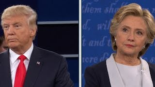After a fiery presidential debate, one of the town hall participants asked the two candidates to name something they respect about each other. See Donald Trump ...