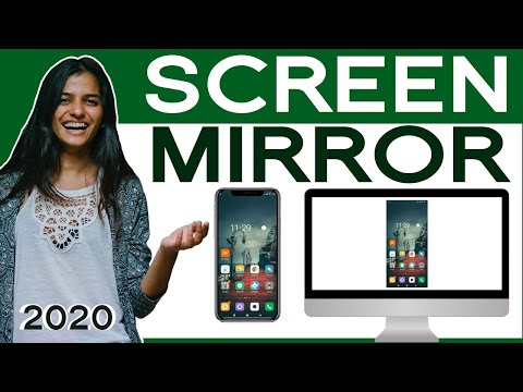 How To Mirror Your Android Screen To PC Laptop -  2020