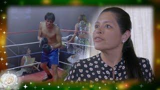 La Rosa de Guadalupe: Lucía se opone a que su hijo sea boxeador   Un golpe al corazón