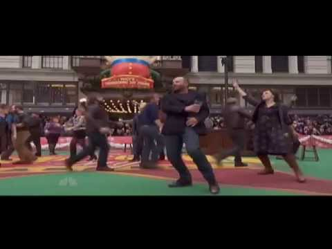 'Show Some Respect' The Last Ship starring Sting at the Macy's Thanksgiving Day Parade
