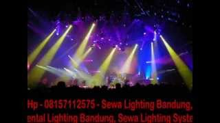 Sewa Lighting Bandung, Rental Lighting Bandung, Sewa Lighting System