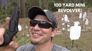 NAA Black Widow Mini-Revolver at 100 Yards!