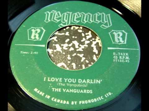 VANGUARDS - TEARS FALL - REGENCY 743 - 1958 - CANADA
