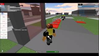 Roblox: Stupid guest trapping himself!