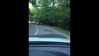 Driving through Beech Mountain Lakes Drums, PA