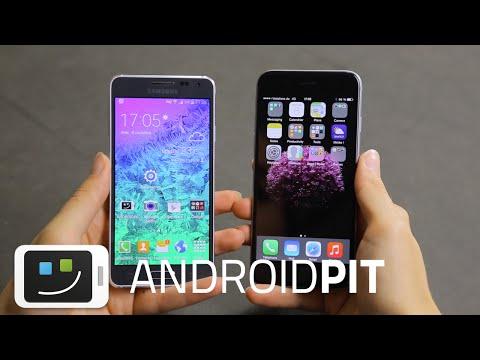 iPhone 6 vs Galaxy Alpha : test comparatif complet