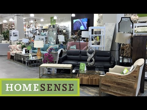 HOME SENSE FURNITURE SOFAS CHAIRS TABLES HOME DECOR SHOP WITH ME SHOPPING STORE WALK THROUGH 4K