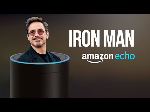Amazon Echo: TONY STARK EDITION