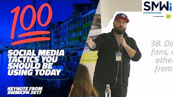 100 Advanced Social Media Tactics - Social Media Week Keynote