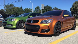 Commodore SSV Redline Or Chevrolet SS?!