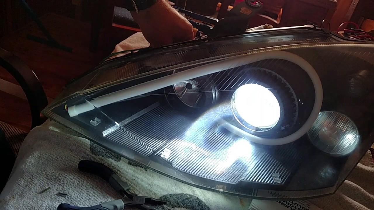 Mk1 Focus Mach Svt Headlights Led Switchback Drl
