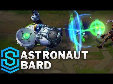 Astronaut Bard Skin Spotlight - Pre-Release - League of Legends