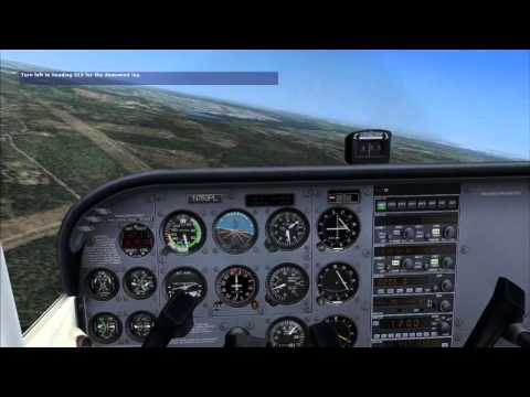 FSX LEARNING CENTER Private Pilot Lesson 4: The Traffic Pattern 自家用操縦士 レッスン 4: トラフィック パターン