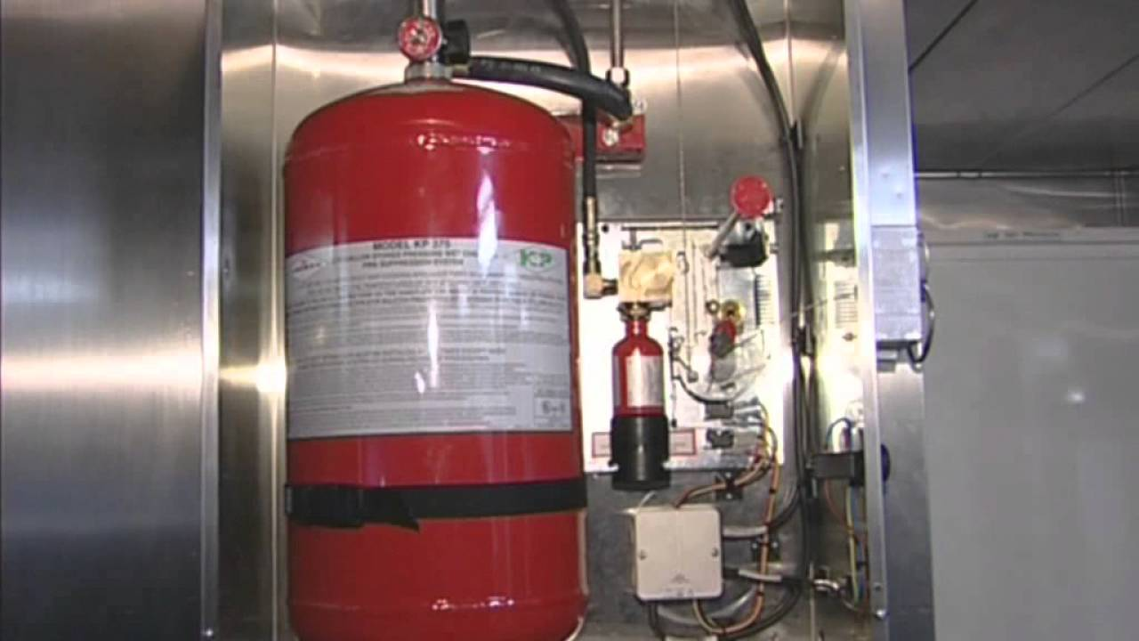 Amerex KP Restaurant Fire Suppression System  YouTube