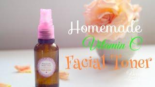 DIY: Vitamin C Homemade Facial Toner - Fade Away Acne Scars & Dark Spots Naturally Thumbnail