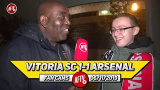 Vitoria SC 1-1 Arsenal | Emery Doesn't Know What Formation To Play & Our Players Are Confused!